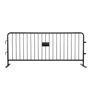 2.5m Lightweight Barricade, Black